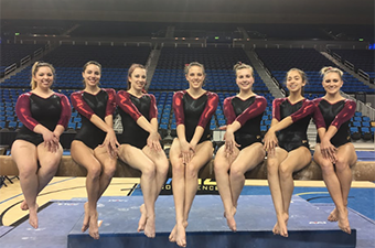 Women's Gymnastic team